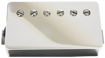 Humbucker Nickel Cover Front